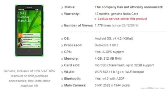 Nokia X (Normandy) будет стоить $110