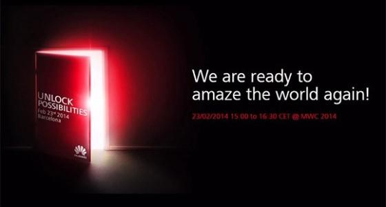 Huawei дразнит новинками с MWC 2014
