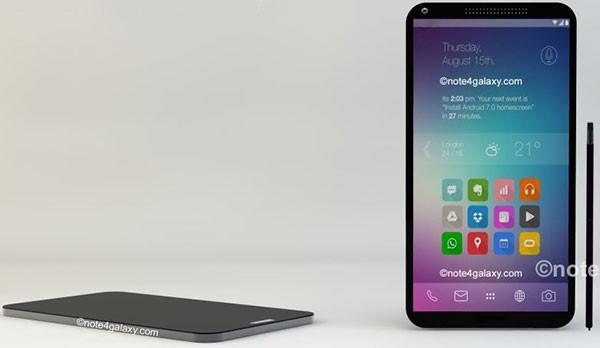 Привлекательный концепт Samsung Galaxy Note 4
