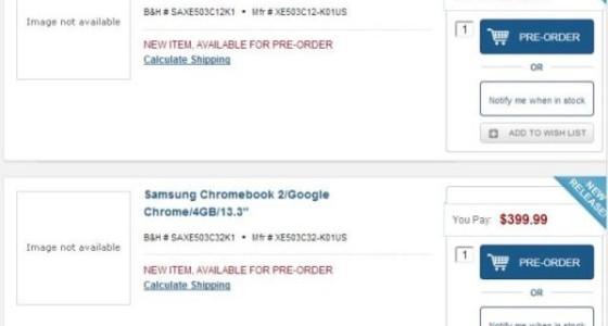 Хромбук Samsung Chromebook 2 будет компактным и мощным