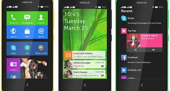 MWC 2014: анонсированы Android-смартфоны Nokia X, X+ и XL