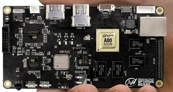 MWC 2014: Allwinner представил 8-ядерный процессор UltraOcta A80