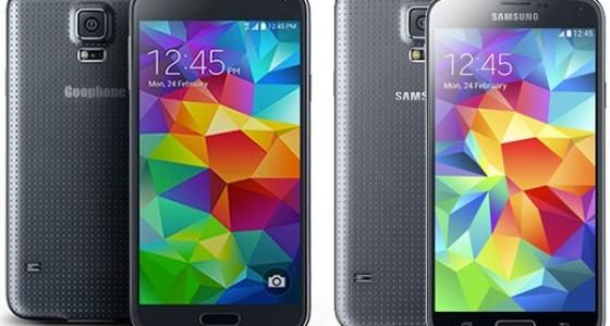 Goophone скопировал Galaxy S5 всего за два дня