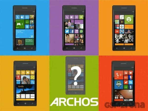 Archos станет новым производителем Windows Phone-смартфонов