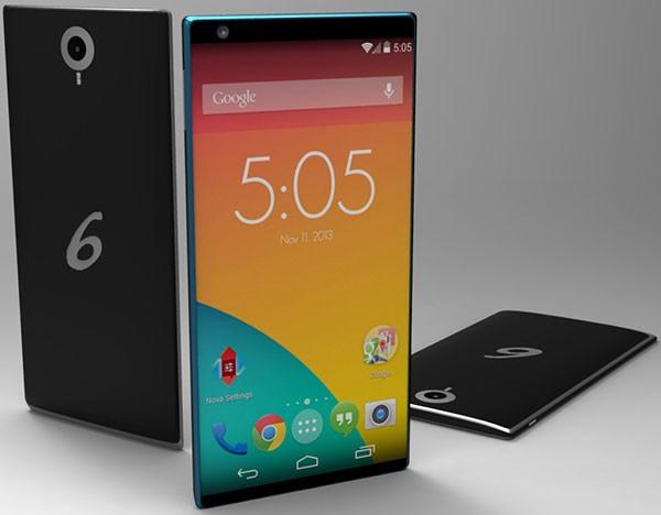 Концепт Nexus 6 под брендом Lenovo