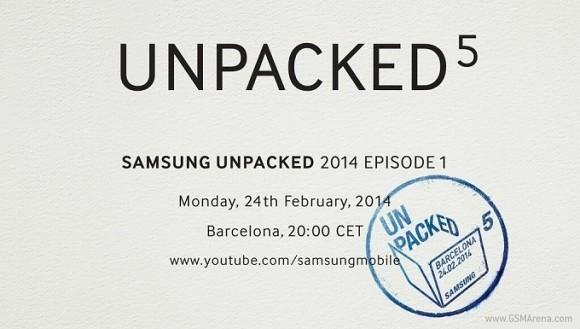 Samsung приглашает на анонс Galaxy S5 24 февраля