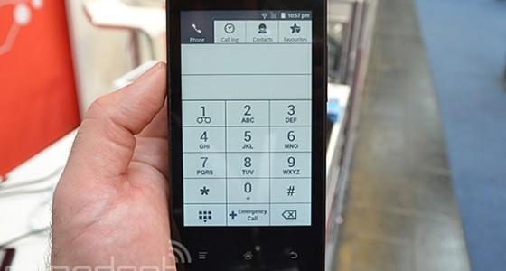 InkPhone: анонсирован смартфон с дисплеем на электронных чернилах