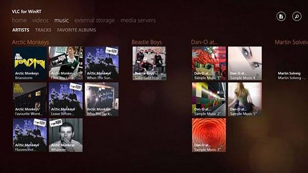 Вышла бета-версия плеера VLC для Windows 8