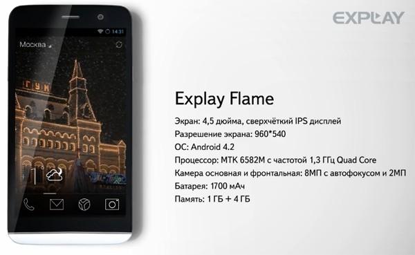 Explay объявила о выходе смартфона на базе Яндекс.Кит