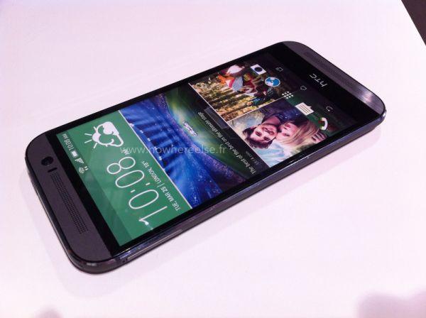 HTC One 2014 показался на фото вместе с флагманами конкурентов