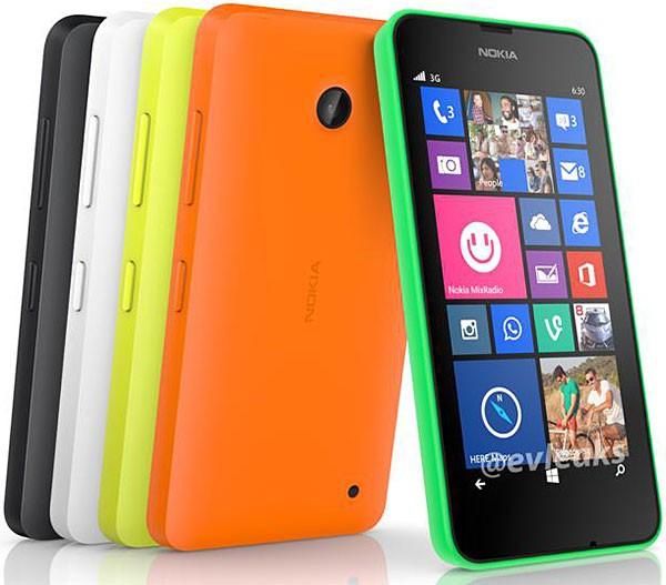 Стали известны характеристики Nokia Lumia 630