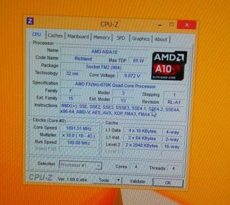 Подтверждено существование процессора AMD FX-670K