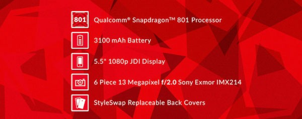 Смартфон OnePlus One получит процессор Snapdragon 801