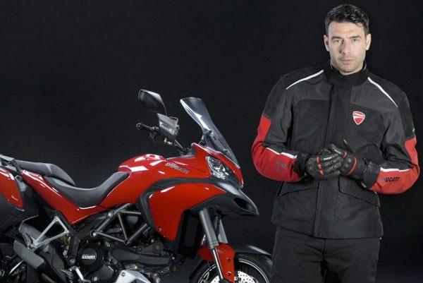 Ducati встроила подушку безопасности в мотоциклетную куртку