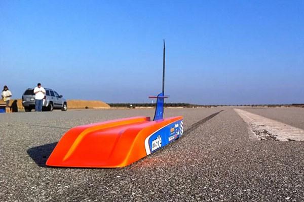 Поставлен новый рекорд скорости радиоуправляемых машин
