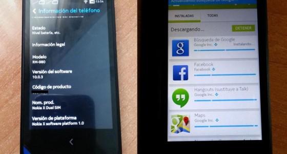 Смартфон Nokia X взломали и оснастили штатными приложениями Google