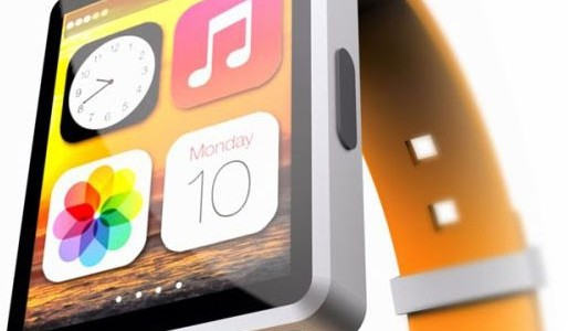 Концепт Apple iWatch в стиле iPod nano