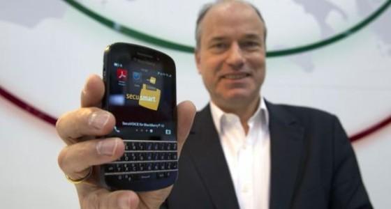 Secusmart сделала из BlackBerry Z10 самый безопасный смартфон