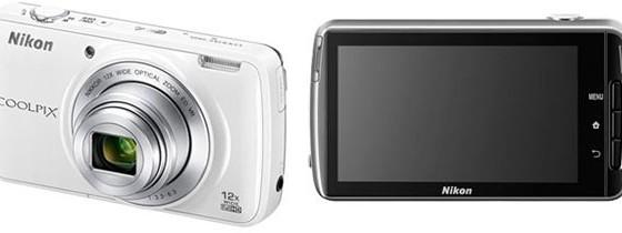 Nikon представил Android-камеру Coolpix S810c
