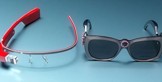 Концепт Google Glass в стиле Prada