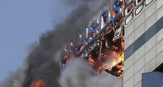 Пожар в здании Samsung повлиял на работу сервисов компании