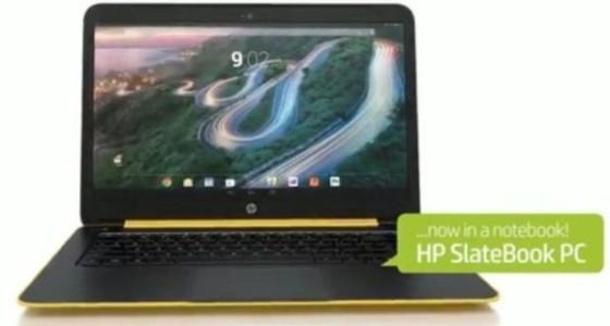 HP разработала Android-ноутбук SlateBook 14