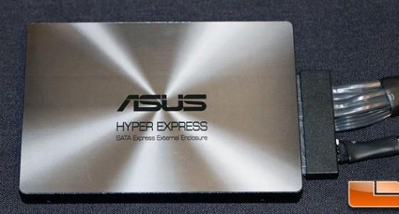 ASUS выпустит накопитель HyperXpress с нестандартным интерфейсом