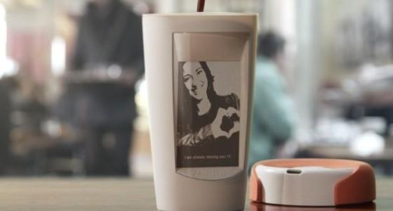 Paulig Muki – технологическая чашка с E-Ink-дисплеем