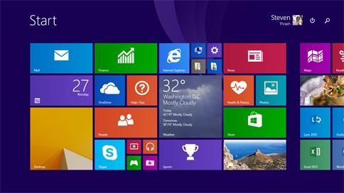 Microsoft представила платформу Windows 8.1 Update 1