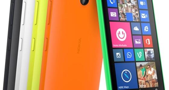 Nokia анонсировала недорогие смартфоны Lumia 630 и 635