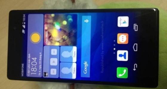 В сети засветился прототип Huawei Ascend P7 с 2K-дисплеем