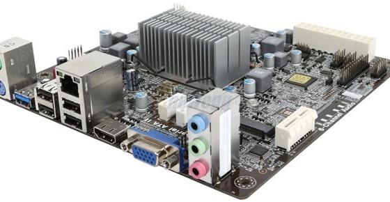 Мини-материнка от ECS получила самый мощный CPU серии Bay Trail