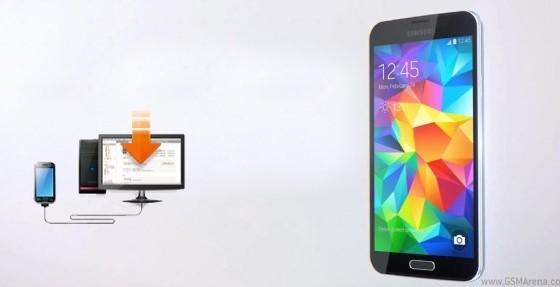 Смартфон Samsung Galaxy S5 получил новую прошивку
