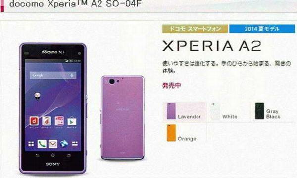 Sony Xperia A2
