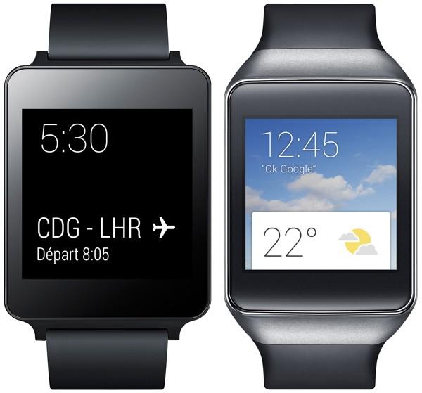 Смарт-часы: Samsung Gear Live или LG G Watch?