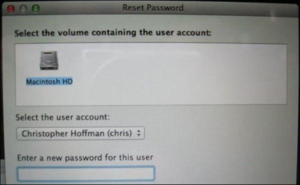 Как сбросить пароль на любой ОС