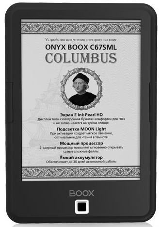 Onyx Boox C67SML Columbus