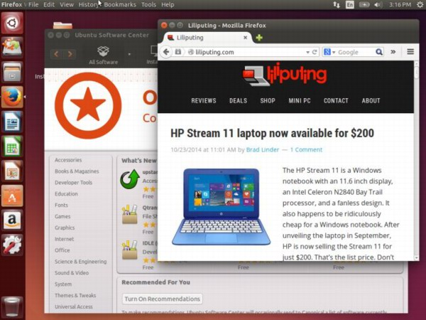 Ubuntu 14.10 Utopic Unicor