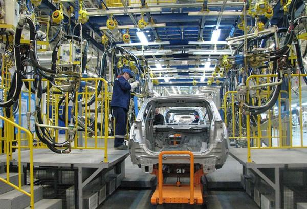 В Санкт-Петербурге завод GM