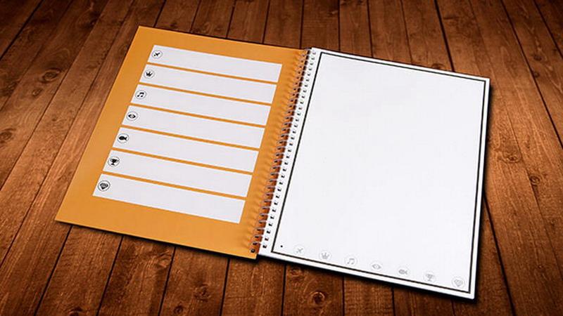 Rocketbook – бумажный блокнот, сохраняющий заметки в облако