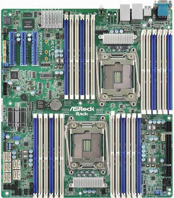ASRock Rack EP2C612D24