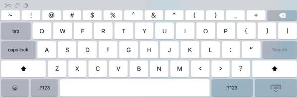 iPad Pro клавиатура