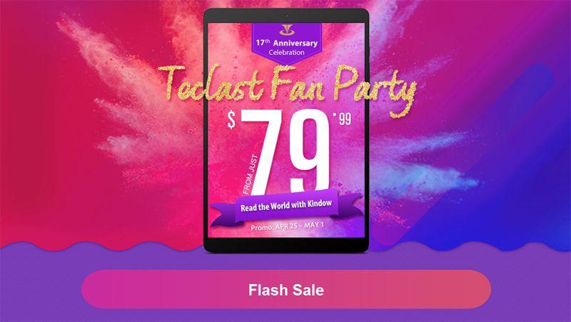 распродажа компьютеров и комплектующих Teclast в GearBest