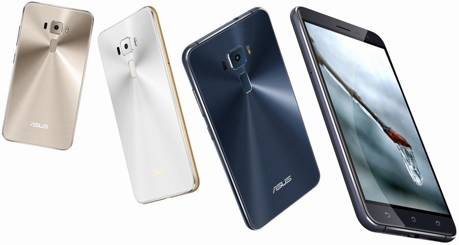 ASUS ZenFone 3, ZenFone 3 Deluxe и ZenFone 3 Ultra