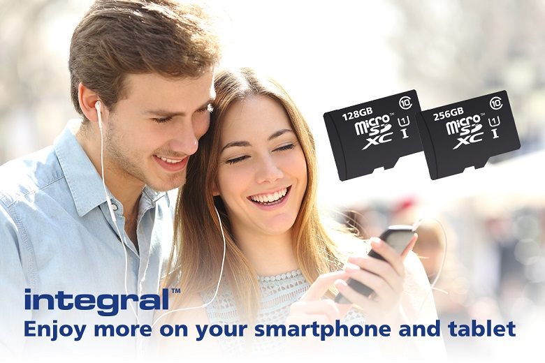Integral Memory microSD Card