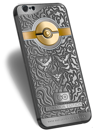 Caviar iPhone 6S Pokemon Edition