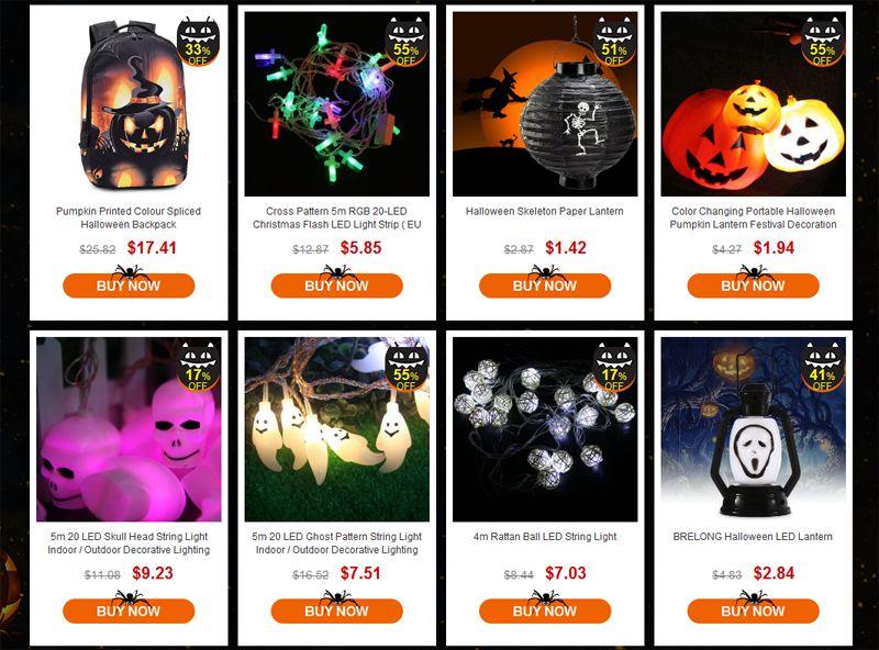 GearBest Halloween