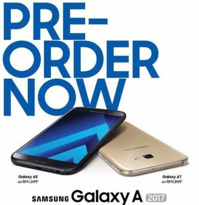 Samsung Galaxy A5 and A7