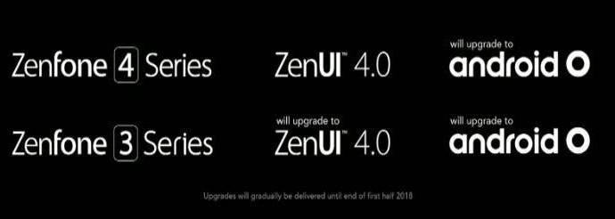 ASUS ZenFone 4 и ZenFone 3
