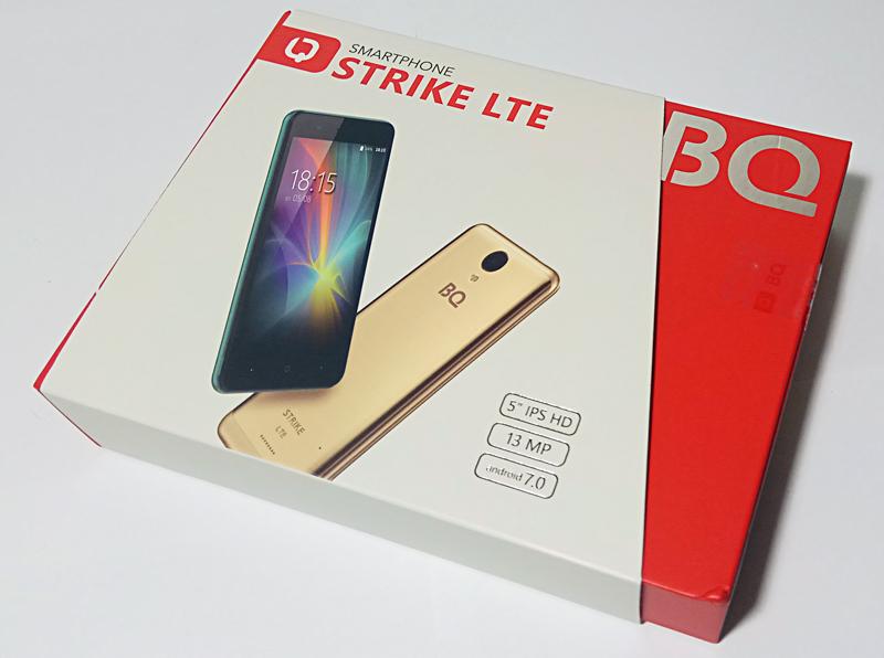 BQ Strike LTE